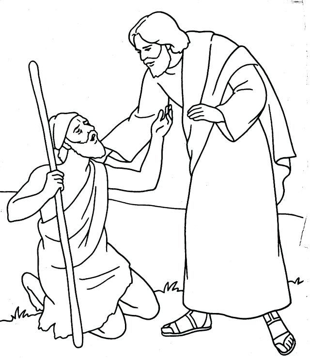 640x740 Heals Coloring Pages Ten Lepers Healed Coloring Page Refugeesmap