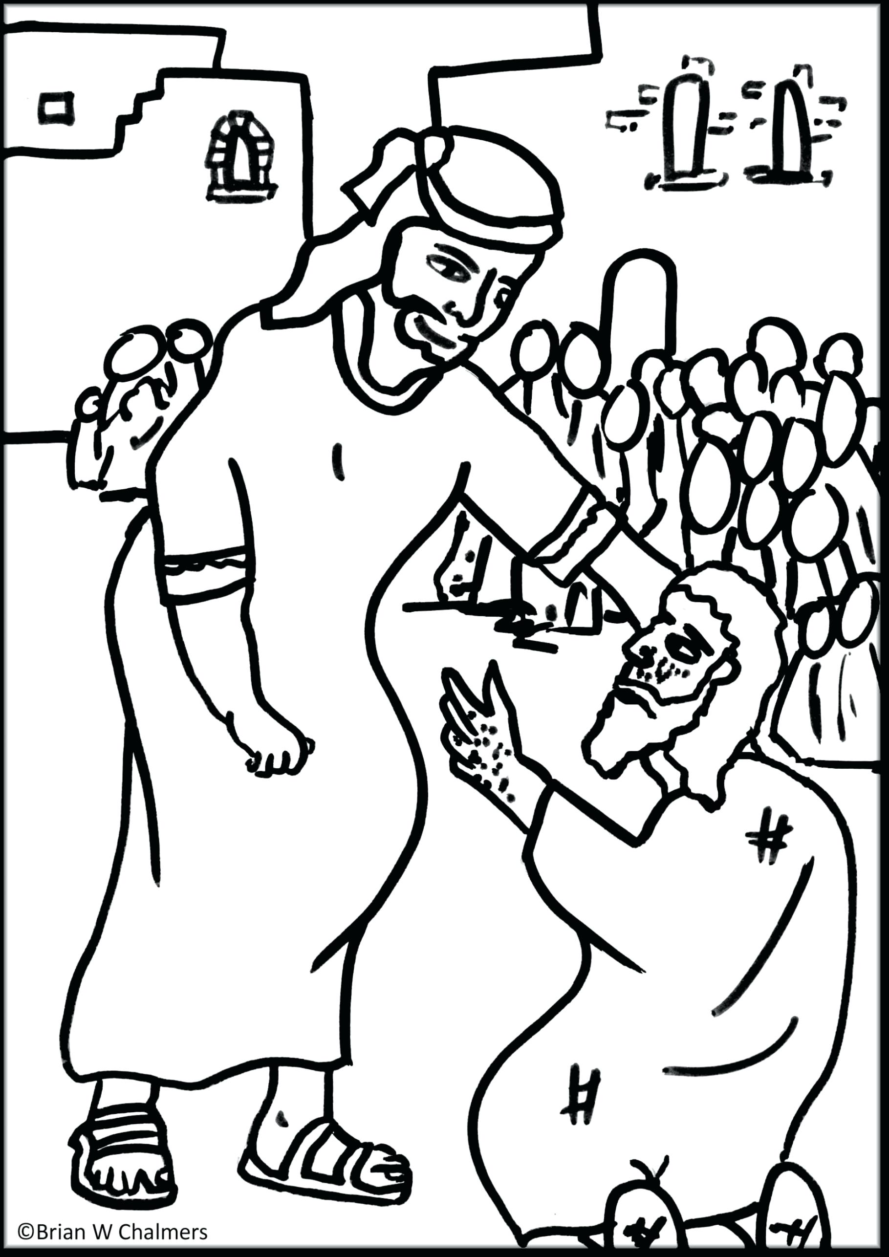 1819x2572 Emerging Lame Man Healed Coloring Page New Jesus Heals Leri Co