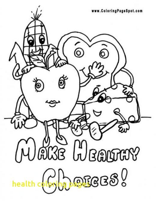 520x672 Health Coloring Pages Health Coloring Pages With Healthy Habits