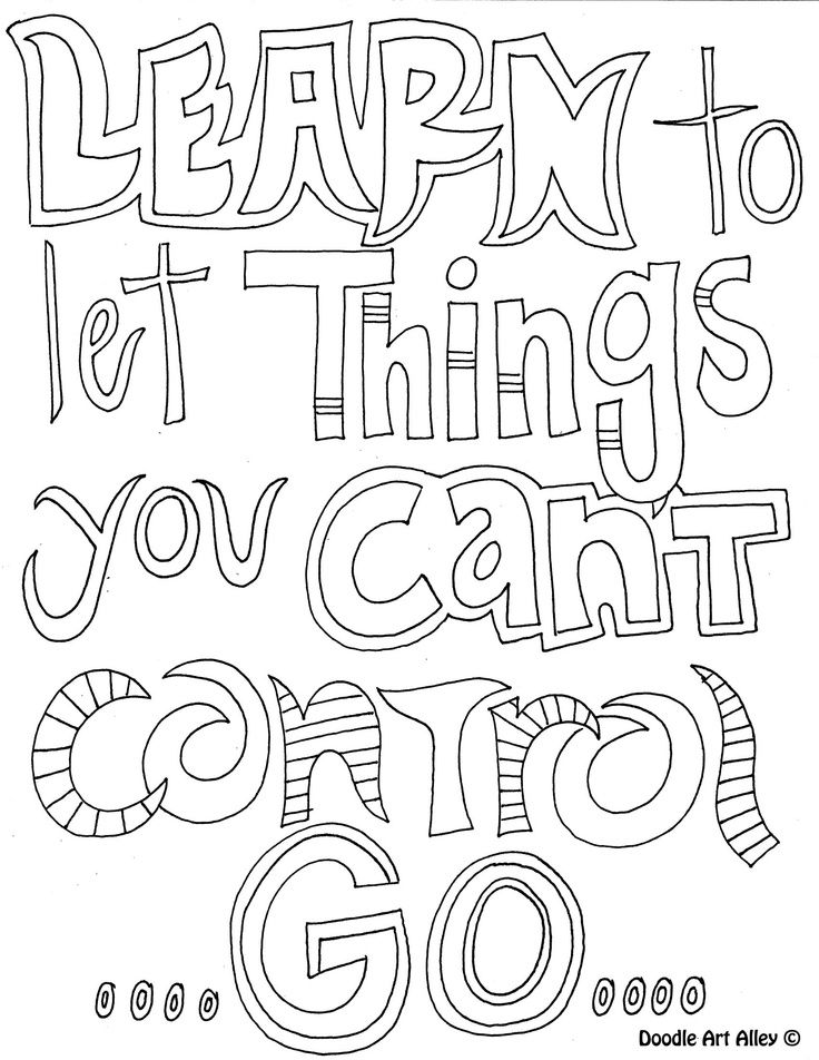 736x952 Doodle Coloring Pages Quotes