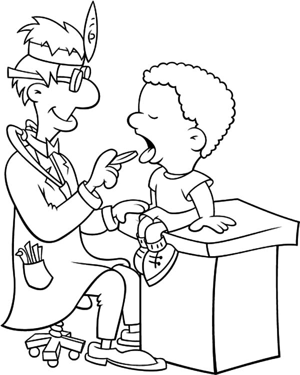 600x751 Health Teet Great Health Coloring Pages