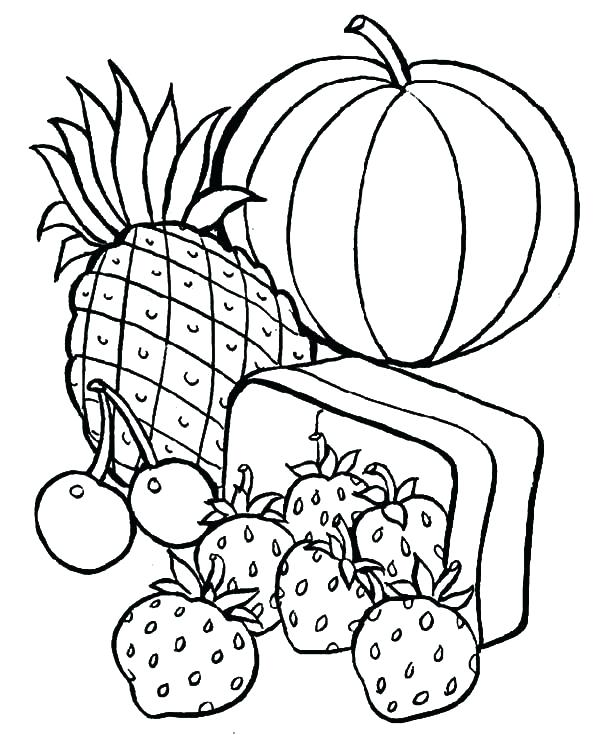 600x735 Healthy Coloring Pages Healthy Eating Coloring Pages Free Coloring
