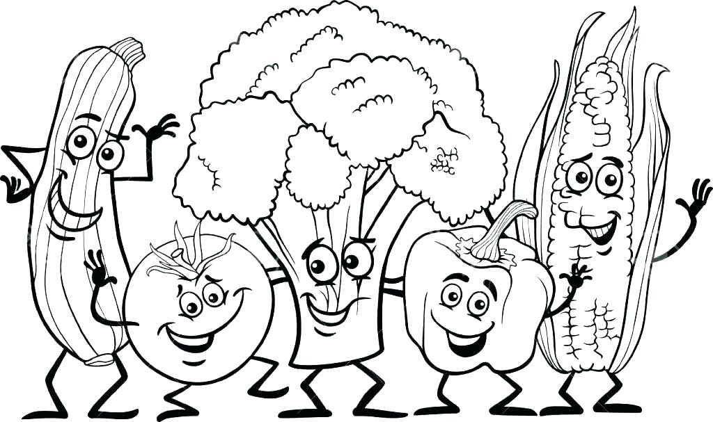 1024x607 Healthy Food Coloring Pages Food Pyramid Coloring Page Healthy