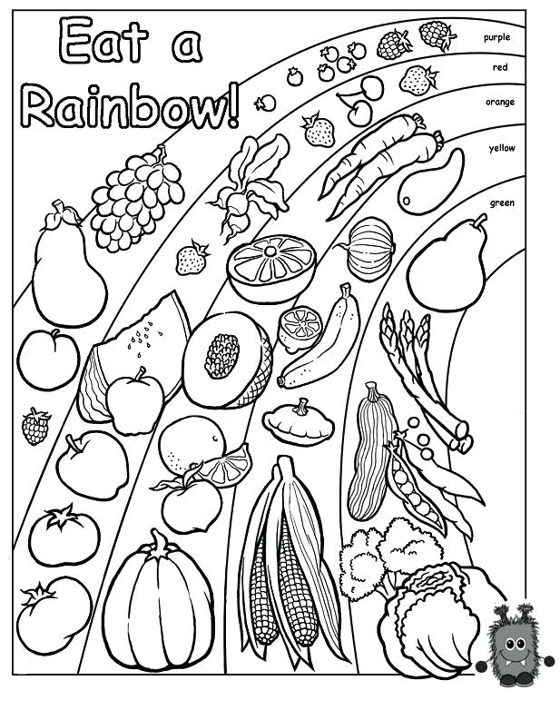 617x782 Nutrition Coloring Page Healthy Foods Coloring Pages Images