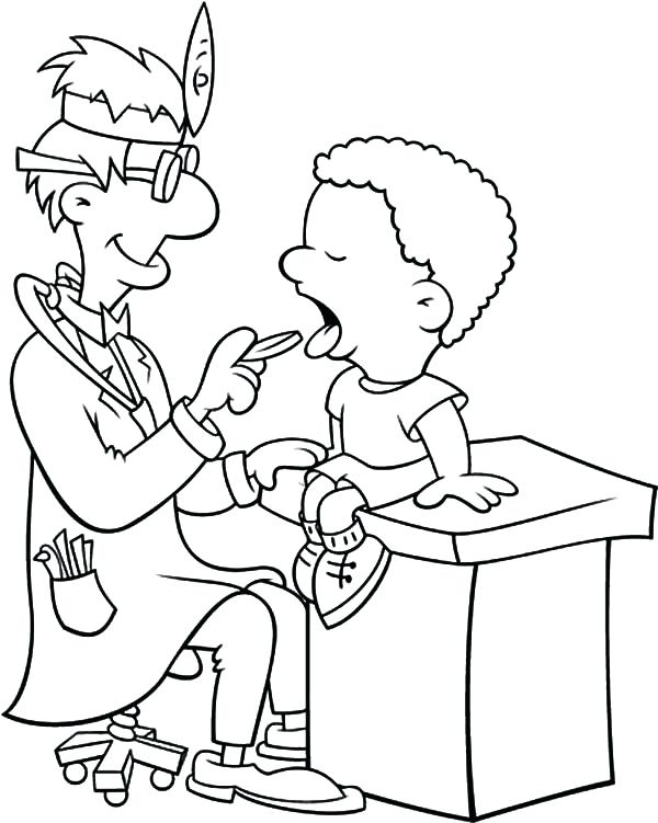 600x751 Healthy Coloring Pages Health Teeth Clinic Coloring Pages Healthy