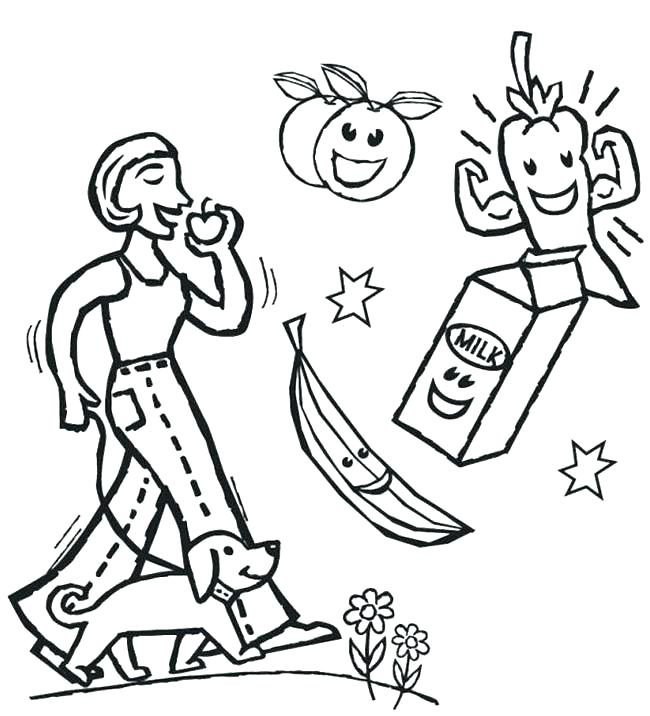 650x716 Healthy Coloring Pages Healthy Heart Coloring Page Nutrition