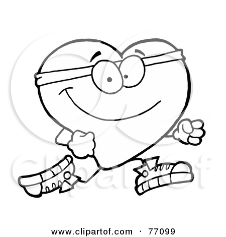 450x470 Healthy Heart Coloring Pages