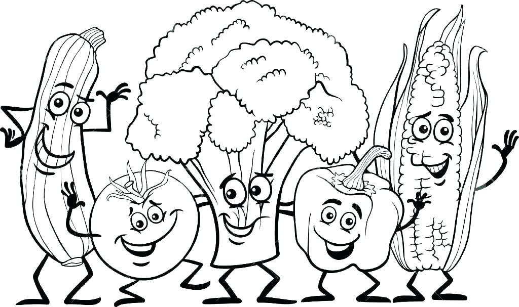 1024x607 Healthy Coloring Pages
