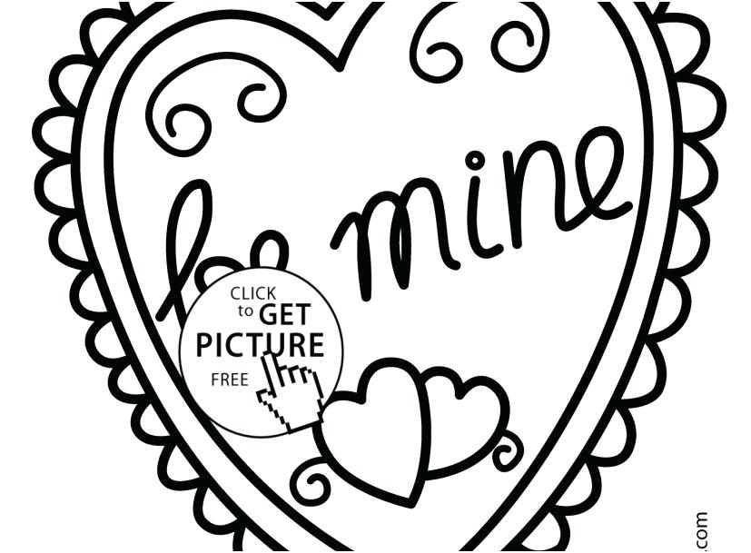 827x609 Heart Coloring Pages Printable Top Rated Heart Coloring Page