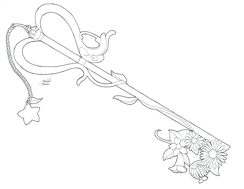 800x622 Kingdom Hearts Coloring Pages Key Kingdom Hearts Characters