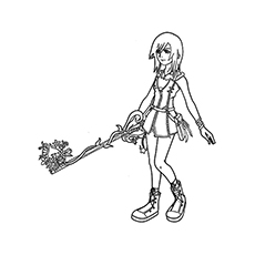 230x230 Top Free Printable Kingdom Hearts Coloring Pages Online