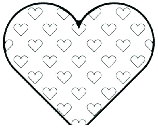 550x481 Kingdom Hearts Coloring Page Heart Coloring Pages Printable Hearts