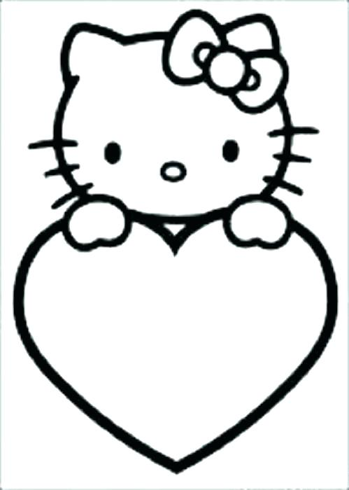 499x700 Love Heart Coloring Pages To Print Kids Coloring Coloring Pages