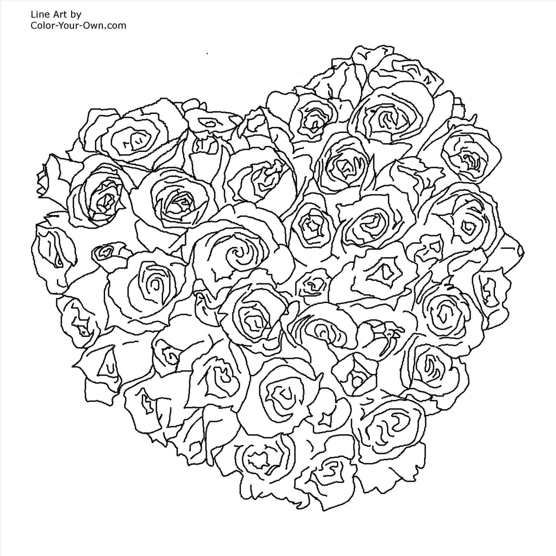 1900x1900 Of Hearts For Teenagers Difficult Heart Coloring Pages For Teens