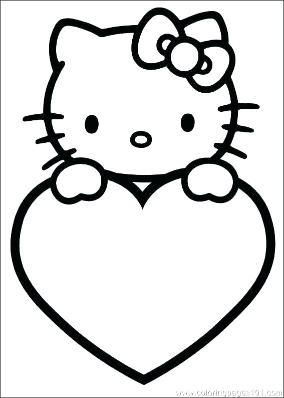 567x794 Heart Coloring Page Heart Coloring Pages To Print Heart Coloring
