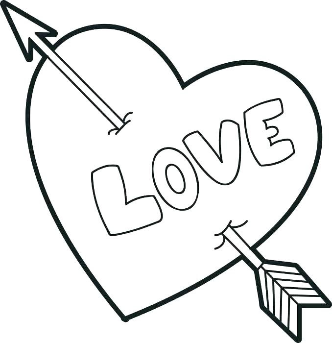 678x700 Hearts With Wings Coloring Pages Flying Heart With Wings Coloring