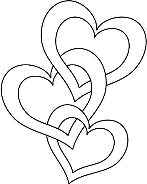 500x625 Luxury Heart Coloring Pages To Print For Human Heart Coloring