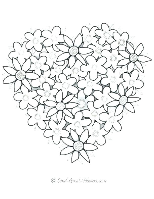 612x792 Print Out Coloring Pages Coloring Pages With Hearts Coloring Pages