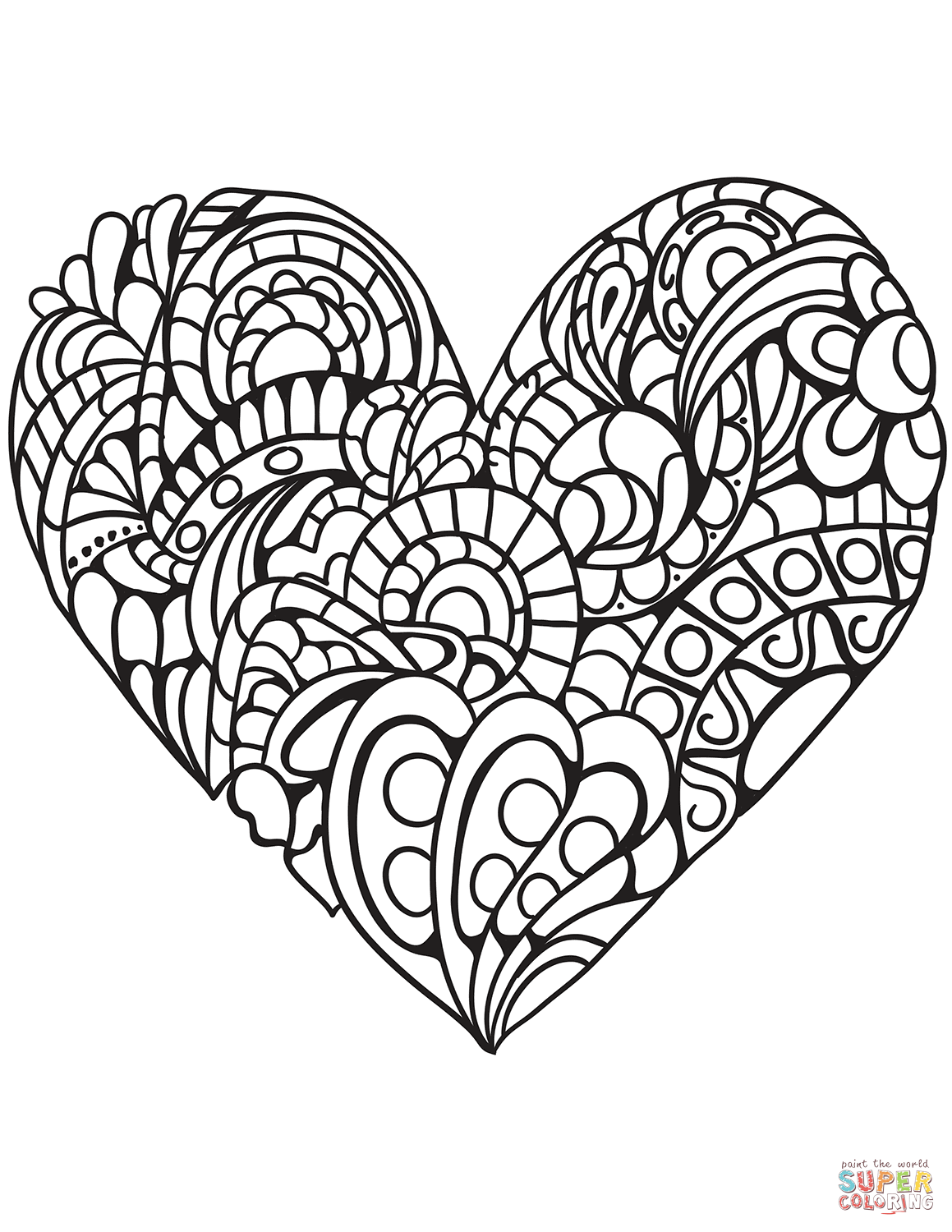 1159x1500 Heart Coloring Pages Free Printable Pictures Coloring Page Hearts