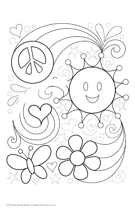 445x700 Peace Sign Coloring Page Peace Sign Coloring Page Peace Coloring