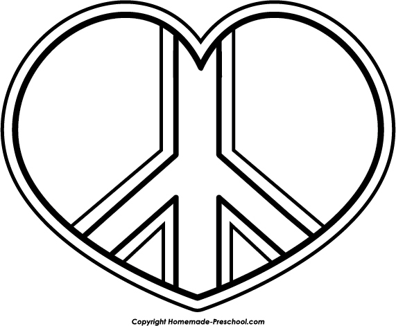 571x471 Peace Sign Coloring Pages Awesome Heart Peace Sign Coloring Pages