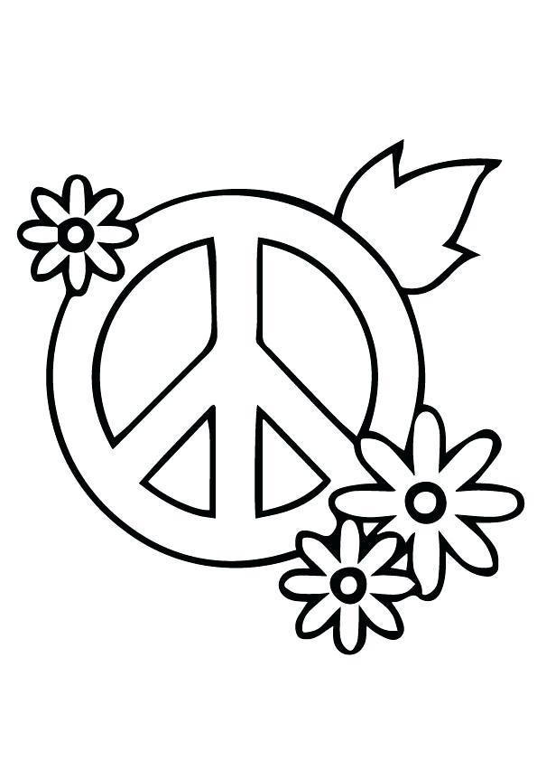 595x842 Peace Sign Color