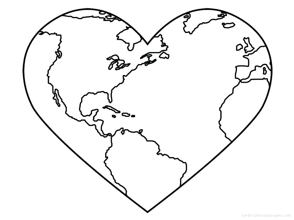 970x728 Heart Coloring Page Pages To Print Out Broken With Wings Colouring
