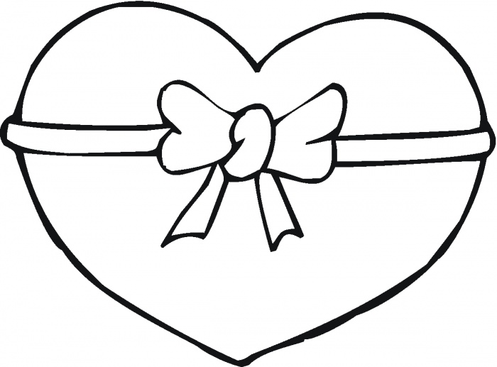 700x517 Heart Coloring Pages