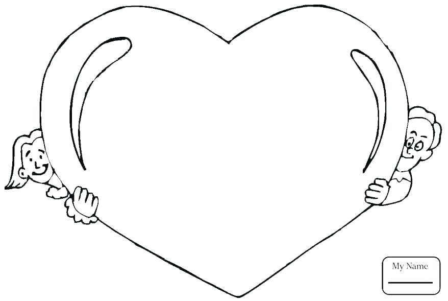 878x589 Heart Print Out Coloring Pages Yongtjun