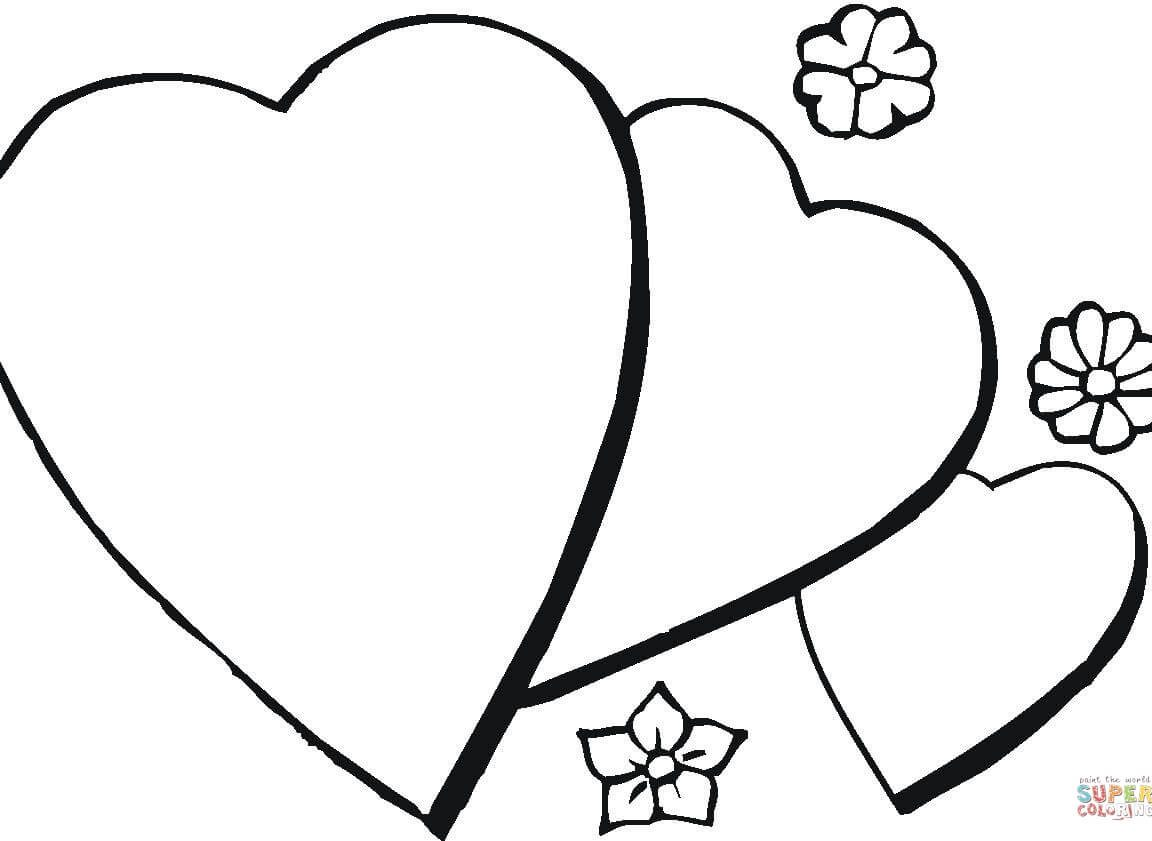 1152x841 Frightening Arrow Hearts Coloring Pages Bow And Heart