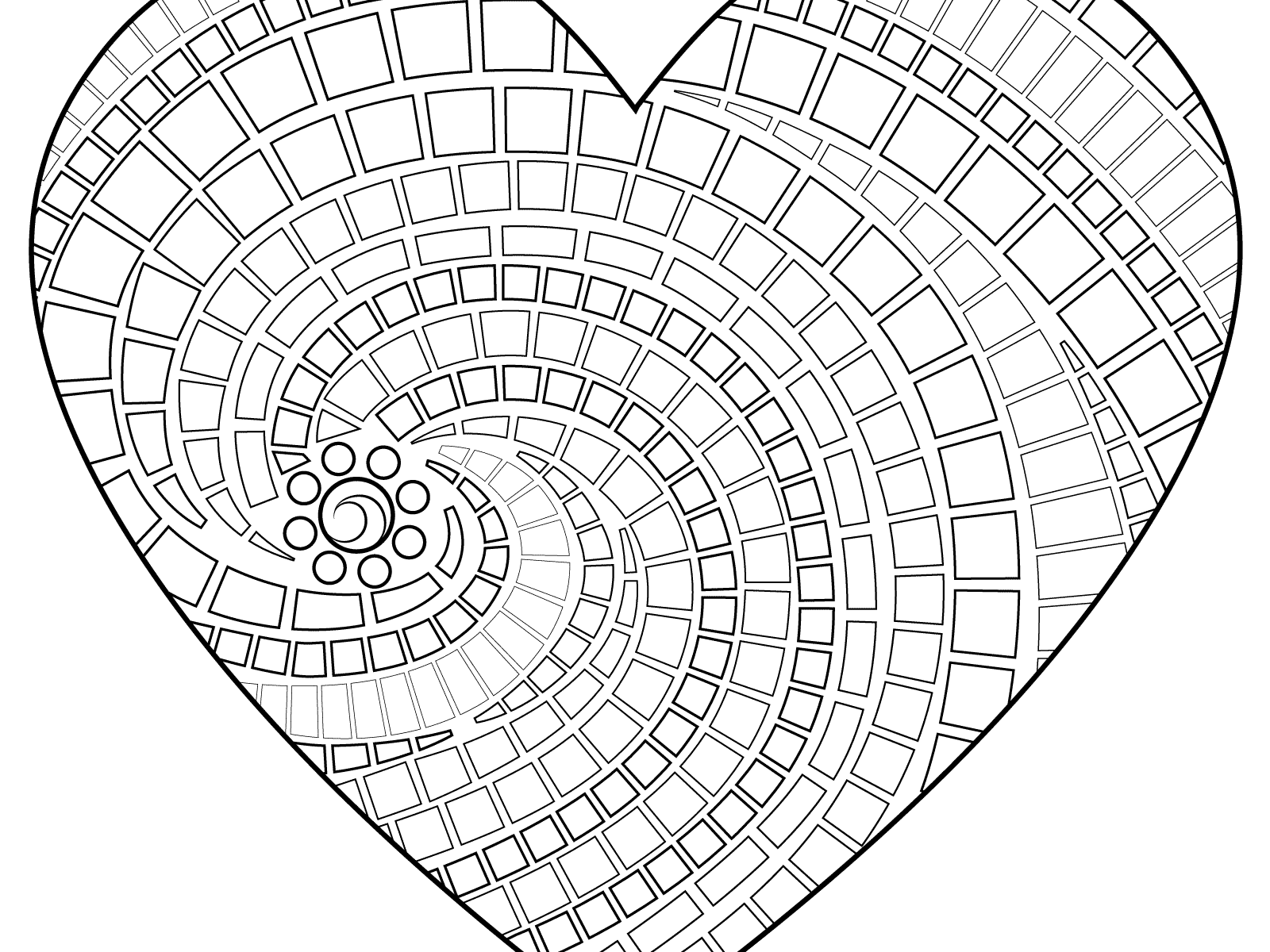 1600x1200 Heart With Arrowing Pages Bow And Frightening Hearts Of Flowers