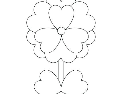 440x330 Coloring Hearts Coloring Pages Roses And Hearts An Arrow Day Heart