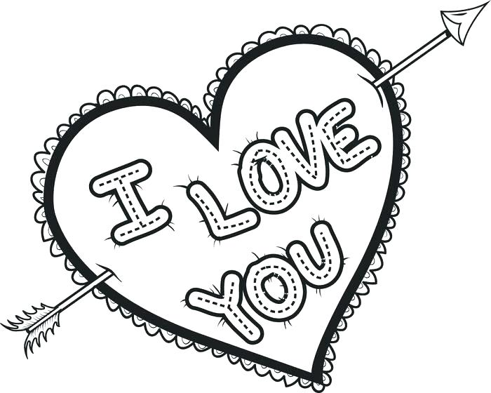 700x560 Coloring Pages Of Hearts Heart Color Pages Heart Coloring Pages