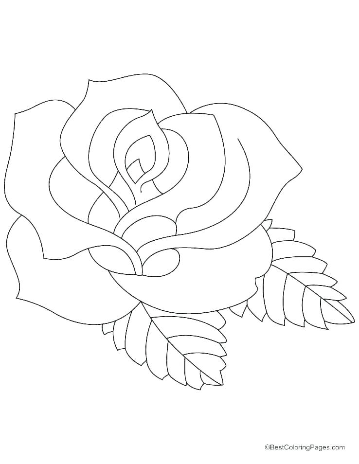 graphic about Roses Coloring Pages Printable named Hearts And Roses Coloring Internet pages Printable at