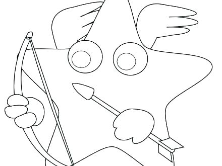 440x330 Hearts And Stars Coloring Pages Star Shape Coloring Page Coloring