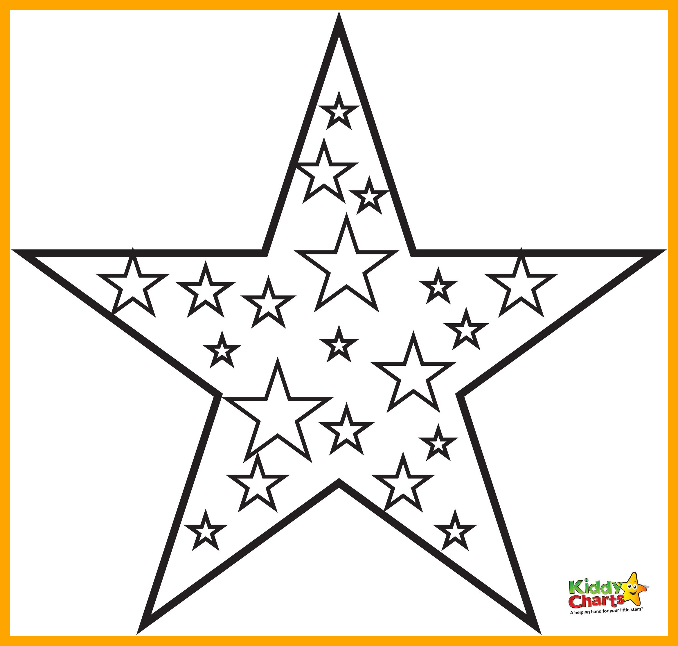 Hearts And Stars Coloring Pages At Getdrawings Com Free For