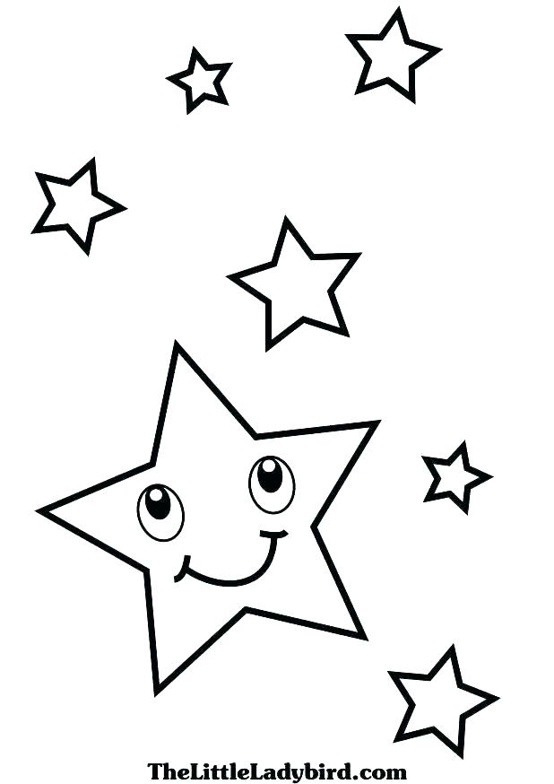 618x874 Shooting Star Coloring Page Hearts And Stars Coloring Pages