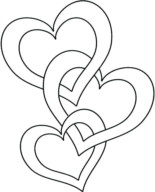 500x620 Love Coloring Pages For Adults Valentine Heart Coloring Pages