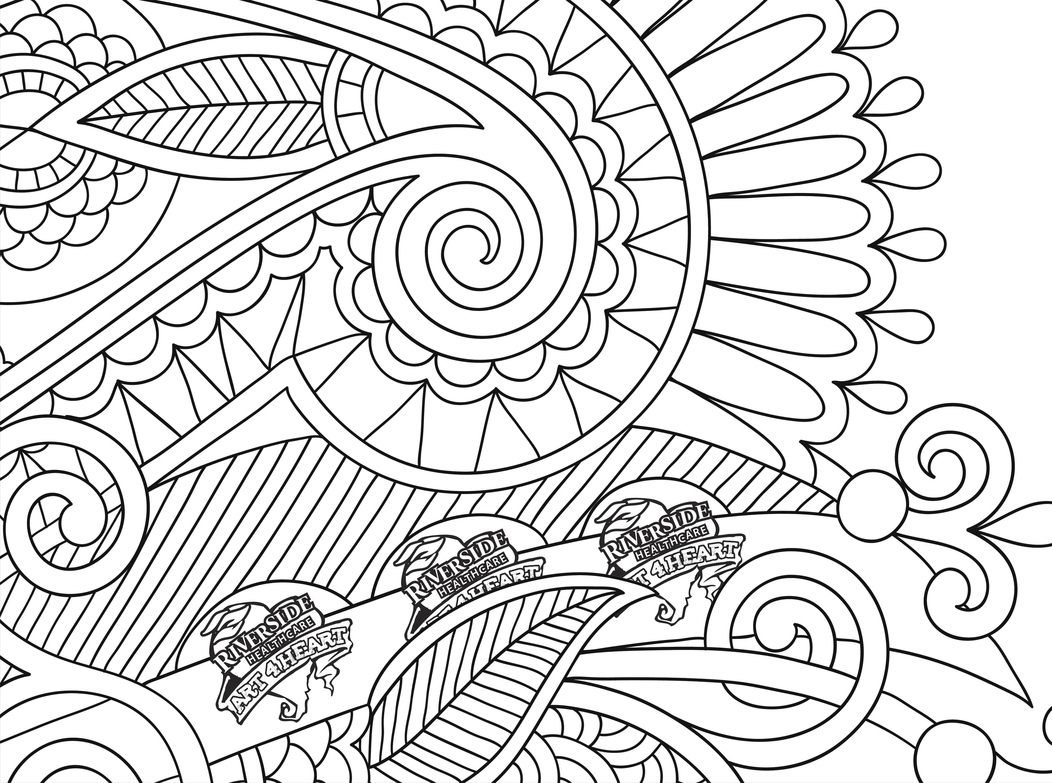 3551x2645 On Coloring Pages For Adults Hearts