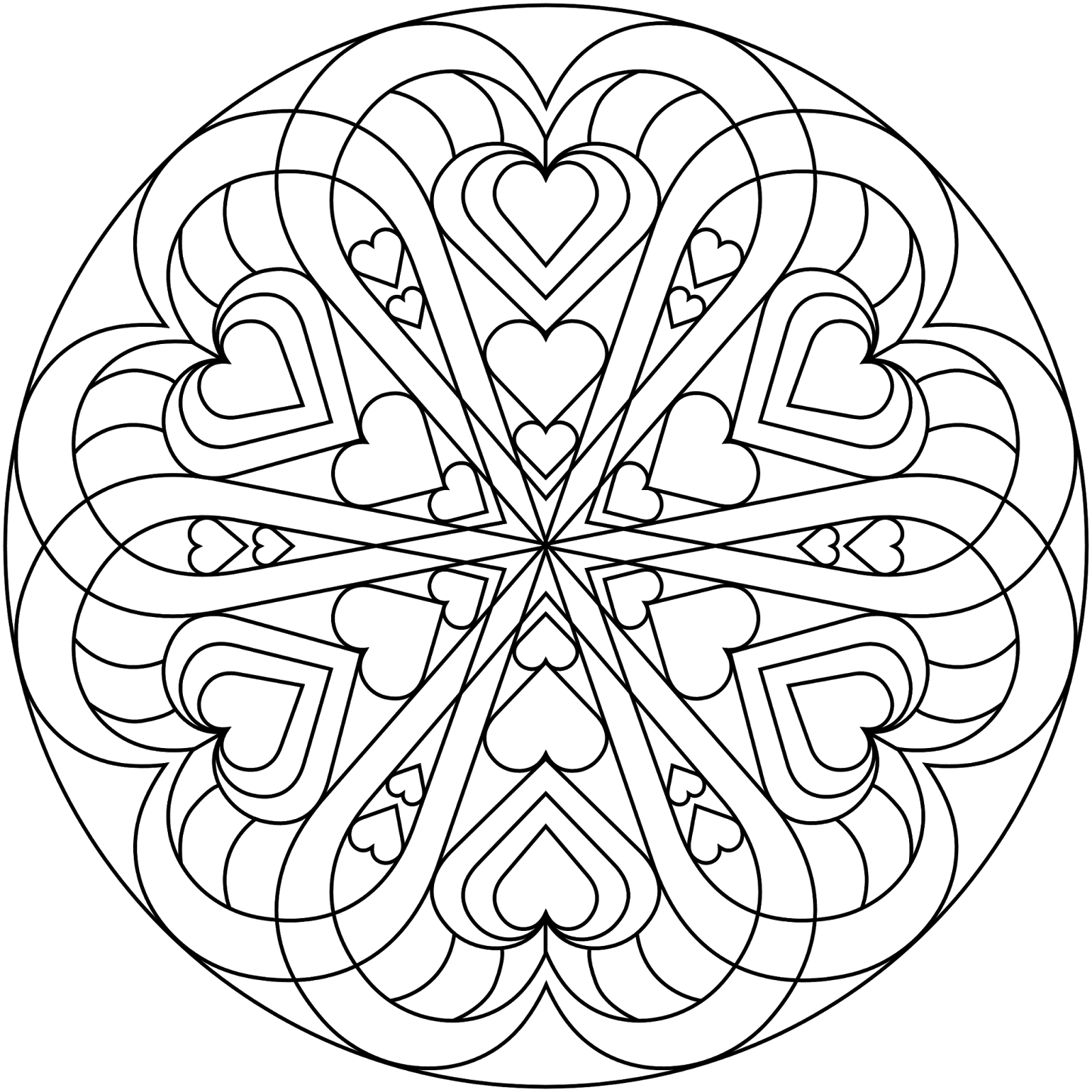 1600x1600 Valentines Day Coloring Pages Adults Best Coloring Pages
