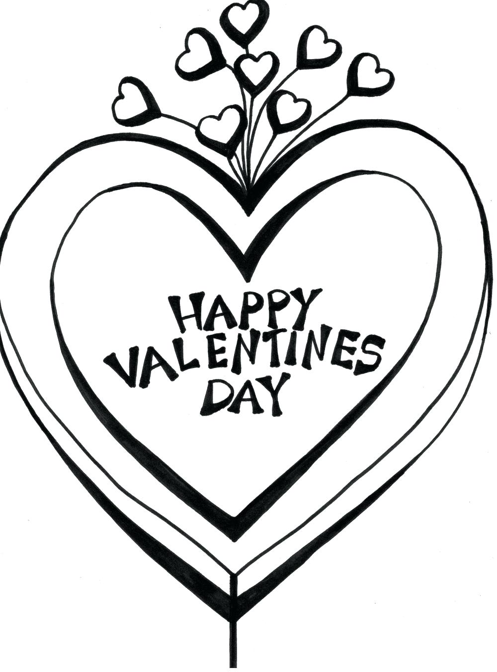 1000x1353 Coloring Pages Valentines Day Coloring Pages Printable Happy