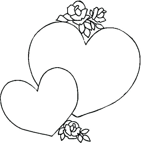 600x598 Coloring Page Of A Heart Coloring Page Of A Heart Giving A Heart