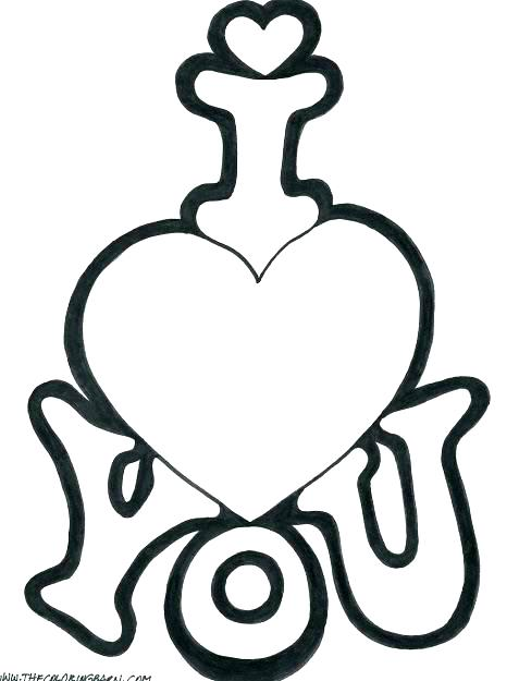 477x625 Coloring Pages Hearts And Roses Coloring Pages Of Hearts