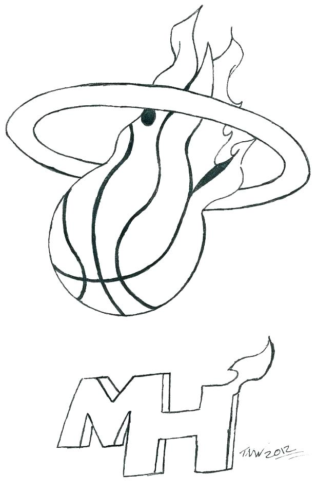 618x960 Miami Dolphins Coloring Pages Free Printable Heat Coloring Pages