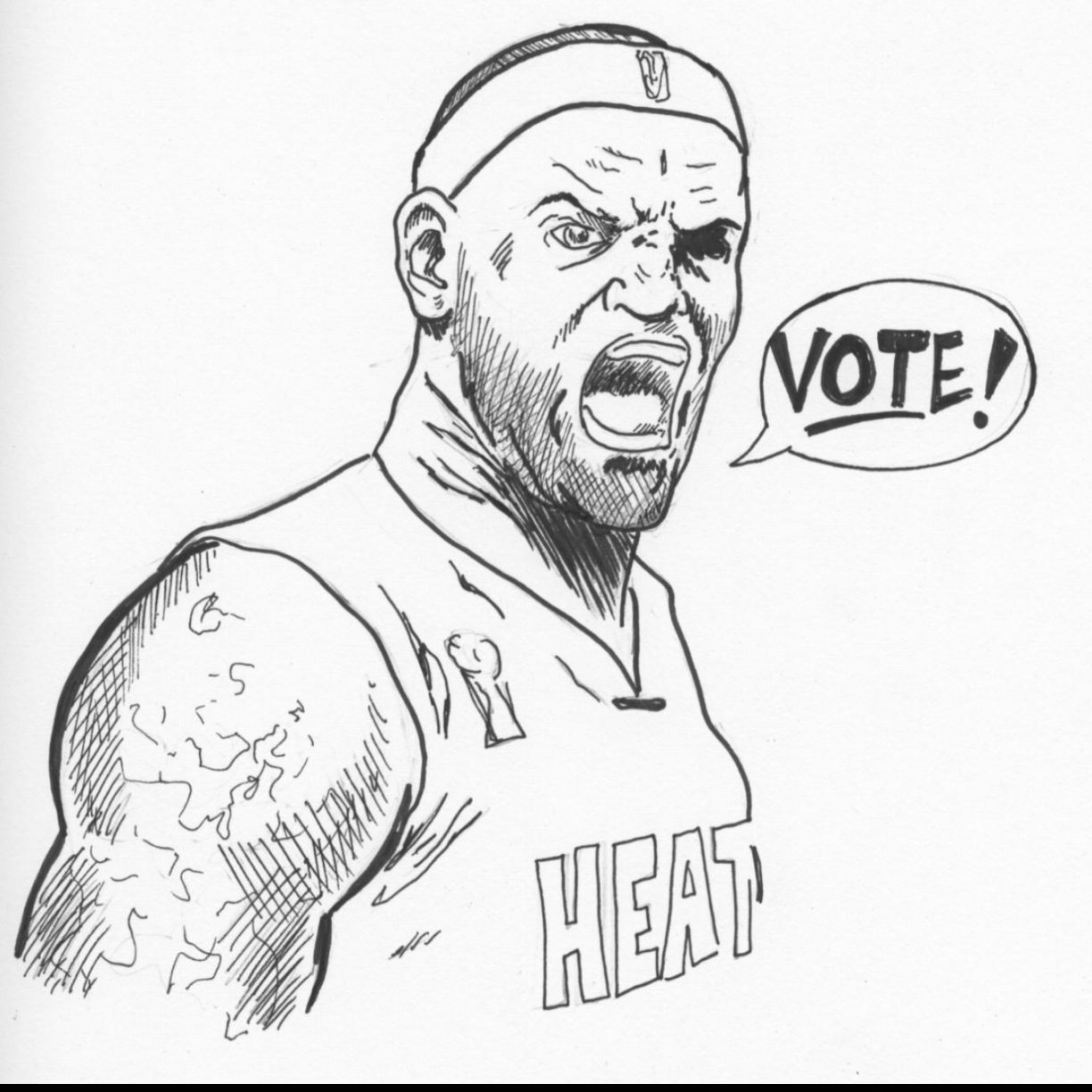 1224x1224 Miami Heat Coloring Pages Free Thestout Detroit Pistons And Nba