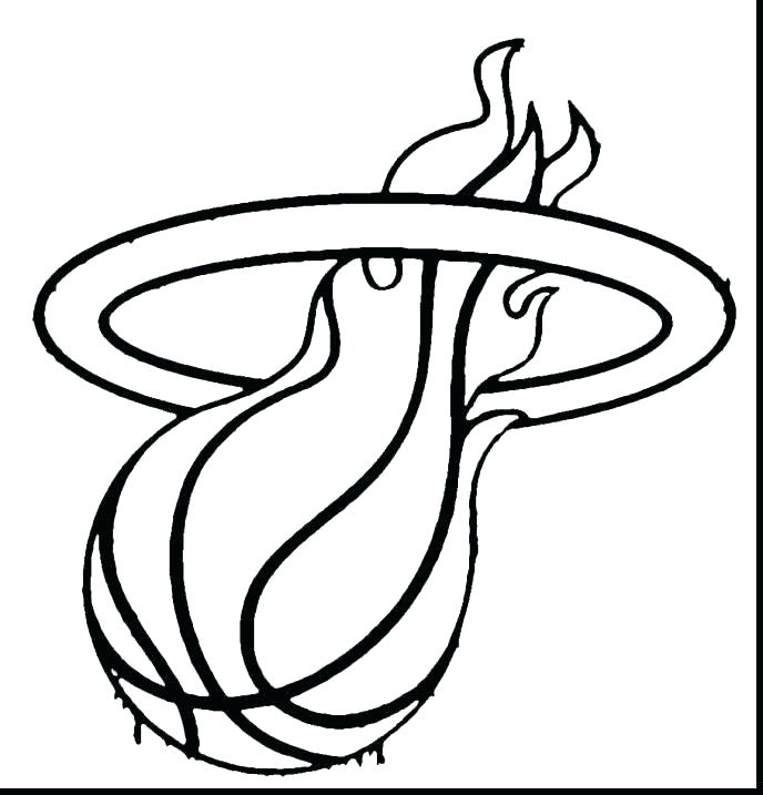 688x717 Miami Heat Coloring Pages Heat Coloring Pages Heat Coloring Pages