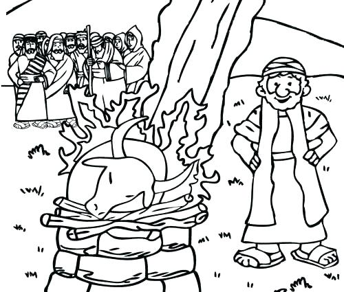500x425 Elijah Coloring Page Coloring Page X A A Previous Image Wallpaper