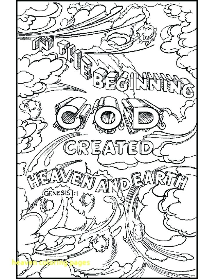 736x960 New Heaven Coloring Pages Heaven Coloring Pages Fresh Free Heaven