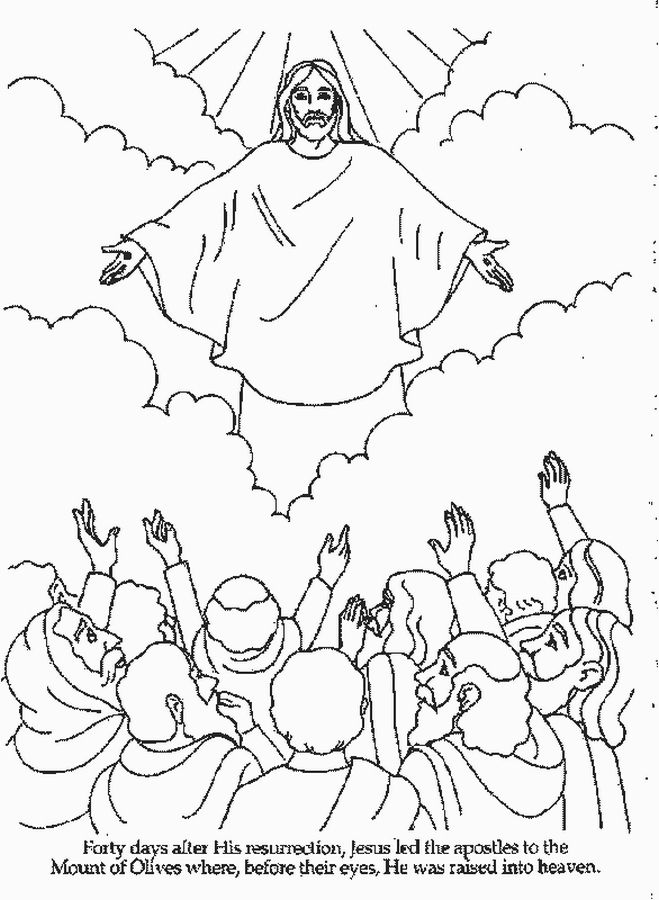 659x900 Fresh Ascension Coloring Page Coloring Pages