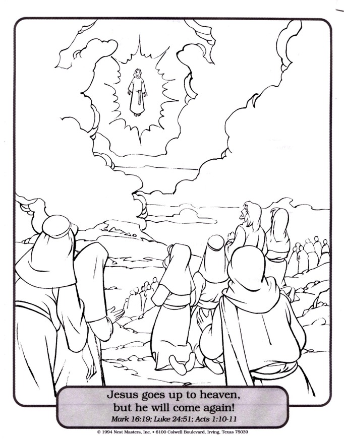 682x873 Ascension Coloring Page Az Coloring Pages Coloring Page Of Jesus